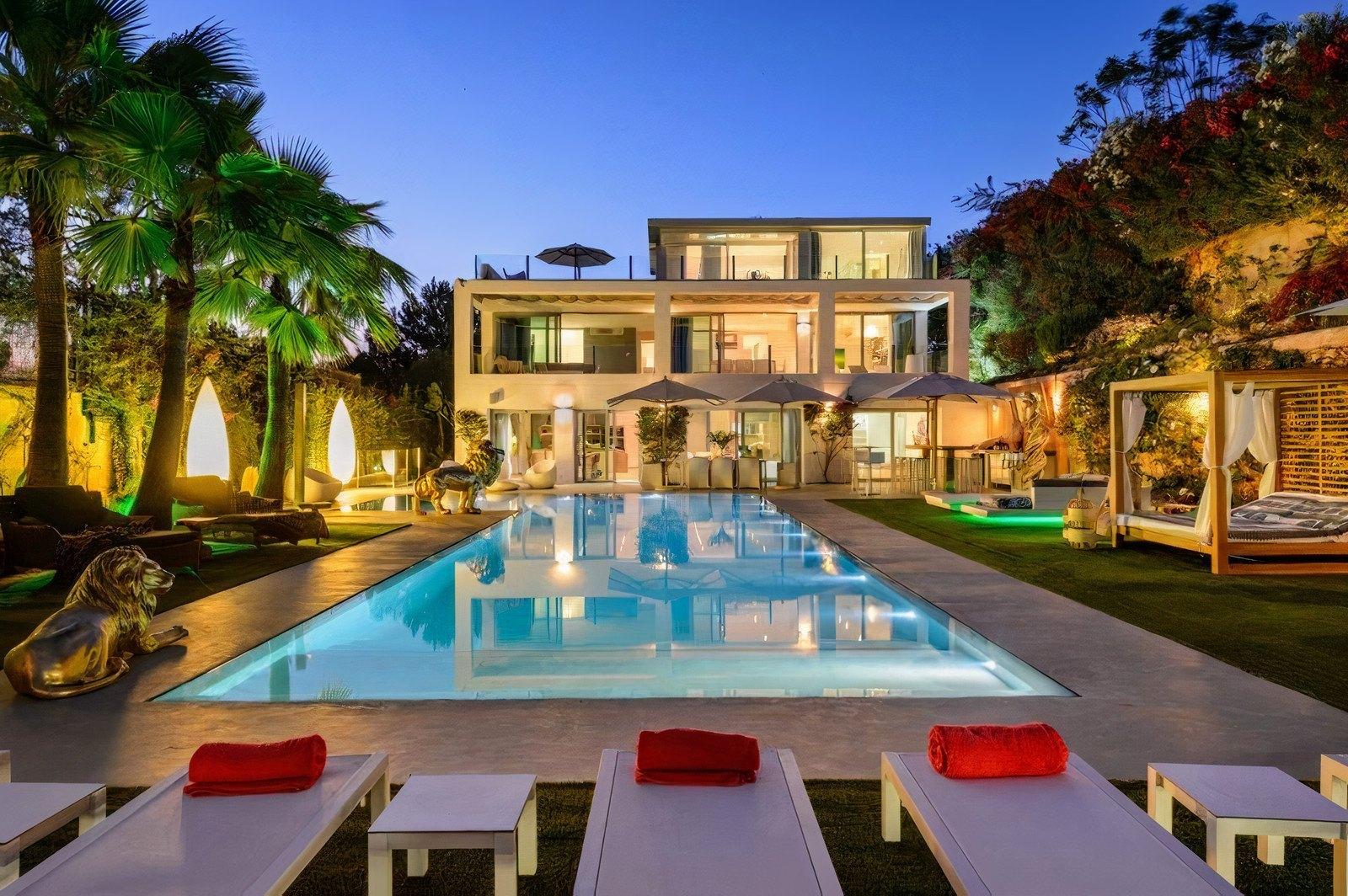 Incroyable villa de luxe à Ibiza